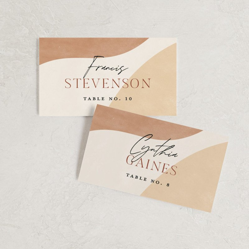 minted place cards