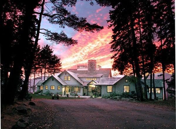 Mountain house estate wedding venues