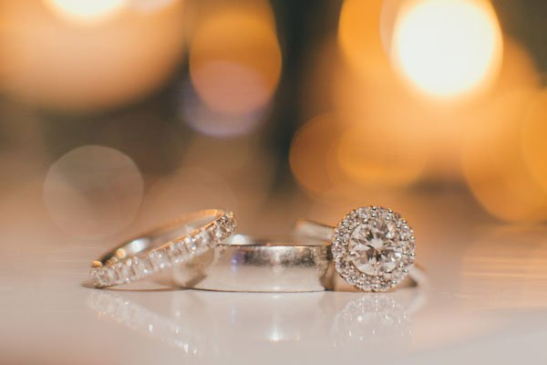How to Wear Your Engagement Ring During the Wedding Ceremony