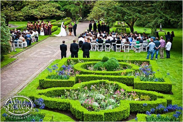 Wedding Venue Review Lakewold Gardens In Washington