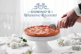 dominos wedding registry