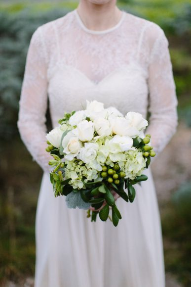 Photo by Megan Clouse Photography. Flowers by Garden By The Sea.