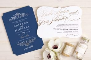 24 DIY Wedding Invitations That Will Save You Money