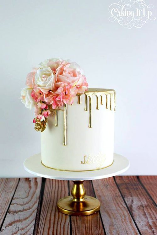 25 Stunning Drip Wedding Cakes You Ll Want Right Now