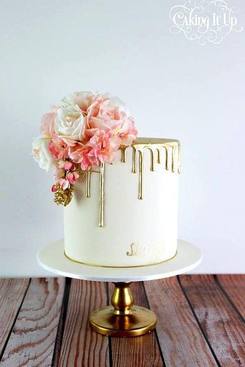 Drip Wedding Cakes
