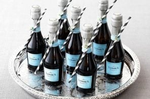 Where to Find Mini Wine Bottles for Your Wedding Woman Getting