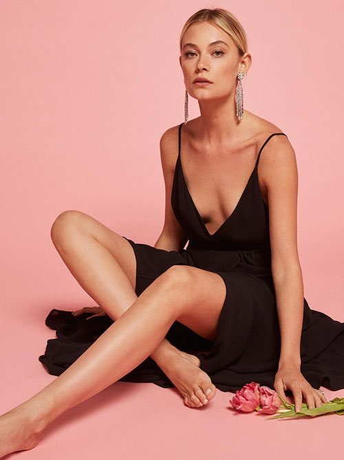 The Callalily Dress in Black