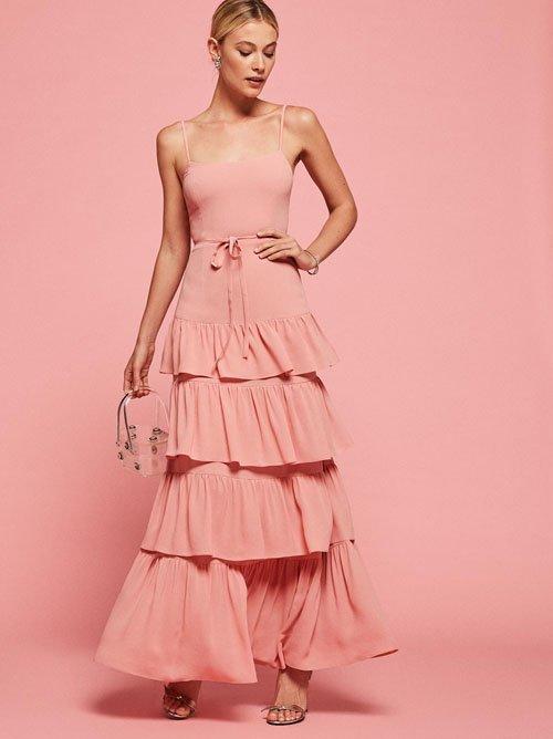 The Foxglove Dress in Blush