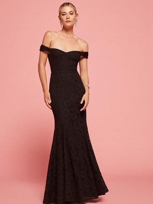 The Freesia Dress in Black