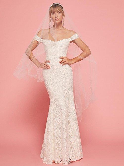 The Freesia Dress in White