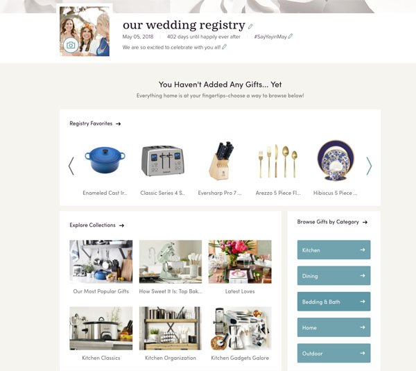 5 Essential Tips For Setting Up A Wayfair Wedding Registry Woman