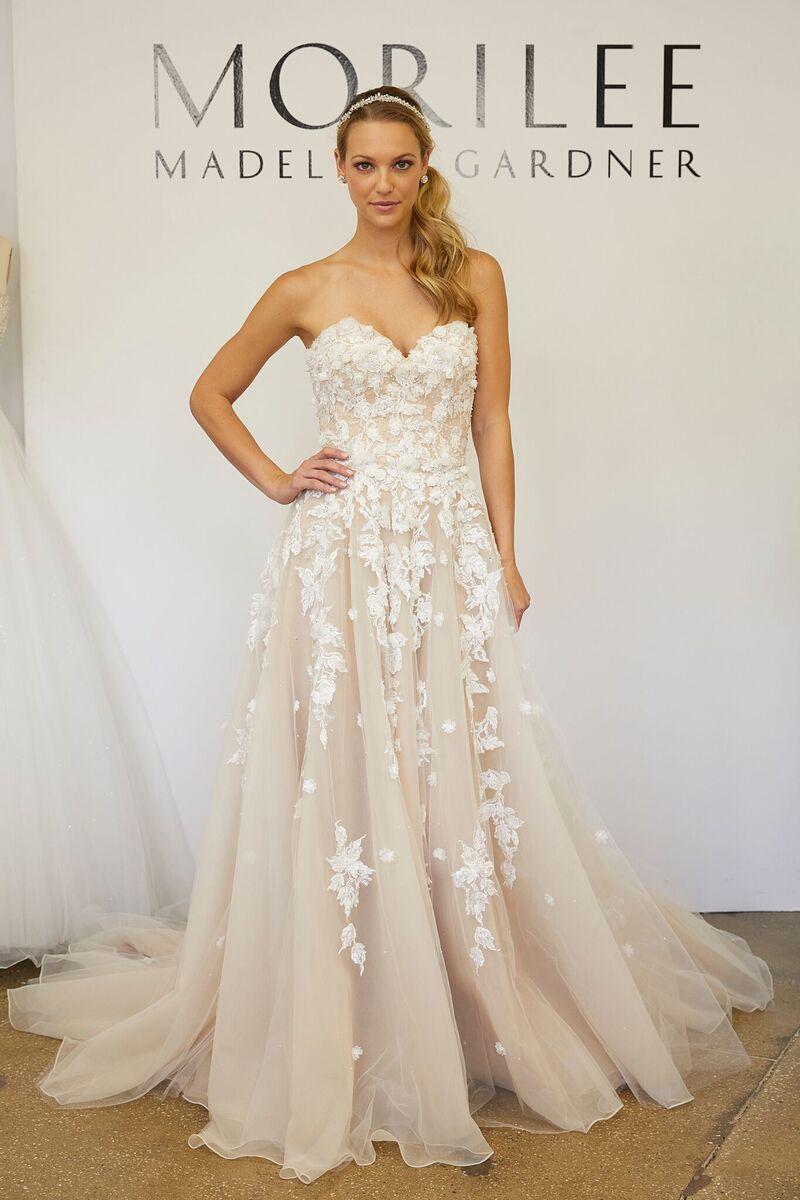 Wedding Dress Designers\' Favorite Necklines | Woman Getting Married