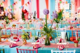 how to decorate a plain wedding venue