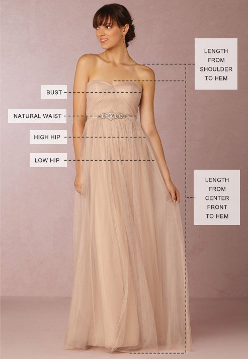 Wedding 411 how to find your perfect wedding dress size for How to find a wedding dress