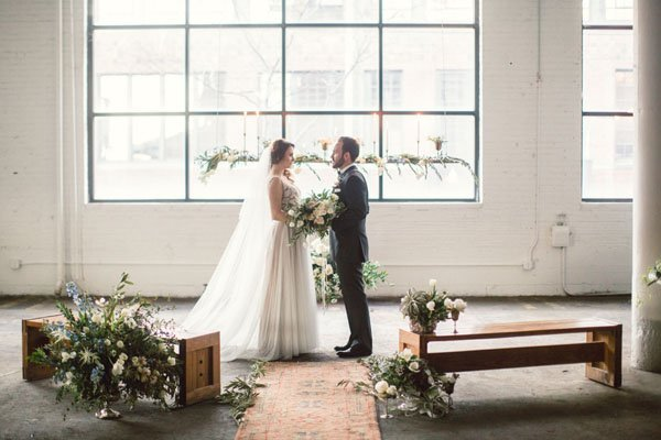 Wedding venue review red space in cleveland ohio cleveland wedding junglespirit Image collections