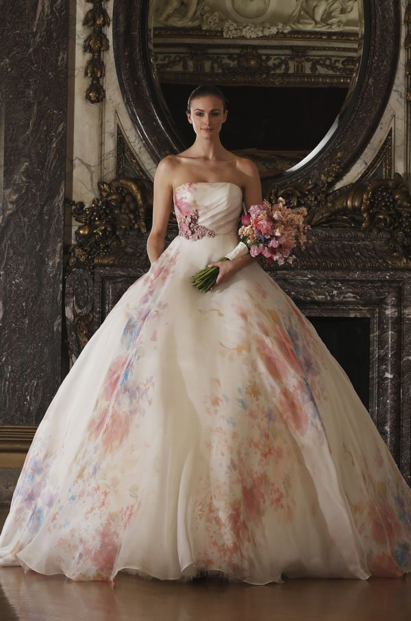 10 Gorgeous Wedding Dress Colors That Totally Stand Out