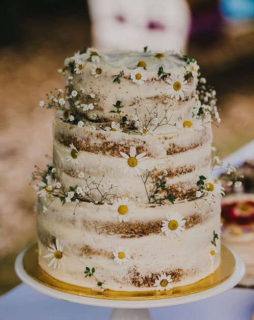 15 rustic wedding cakes that will make you want a barn wedding wildflowers junglespirit Gallery