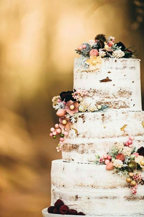 15 Rustic Wedding Cakes That Will Make You Want a Barn Wedding