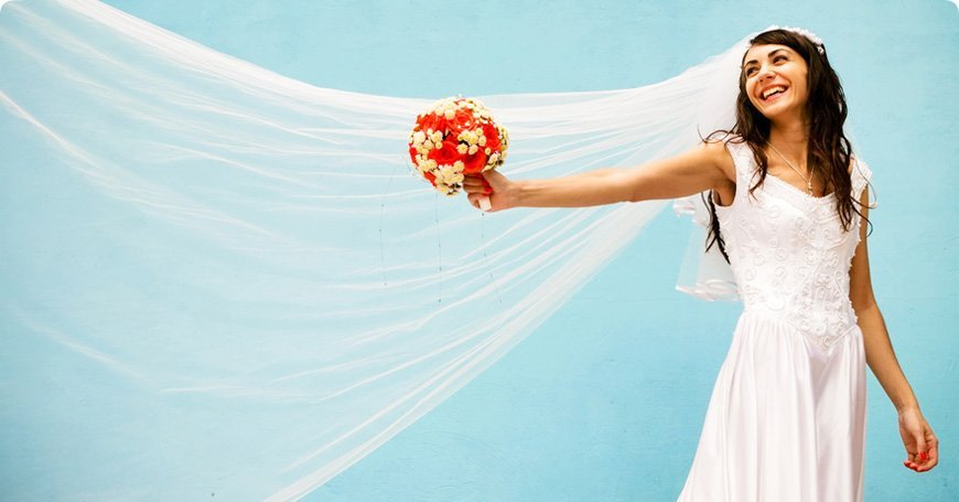 How Much Should a Wedding Veil Cost? | Woman Getting Married