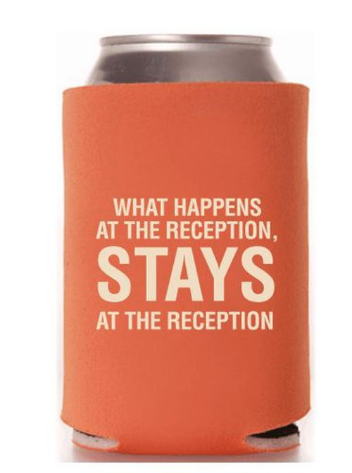 18 Of The Funniest Wedding Koozies That Guests Will Want