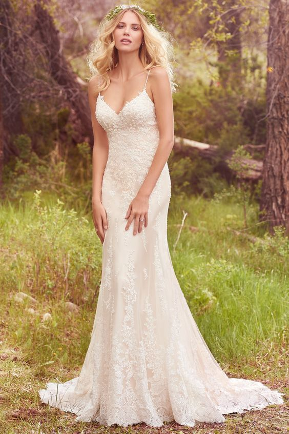 princess seams wedding dress