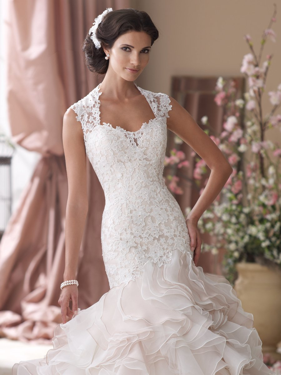 These are the 37 most popular wedding dress styles for Queen anne neckline wedding dress