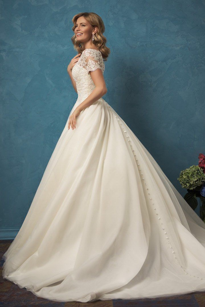 These are the 37 Most Popular Wedding Dress Styles 1c470425b