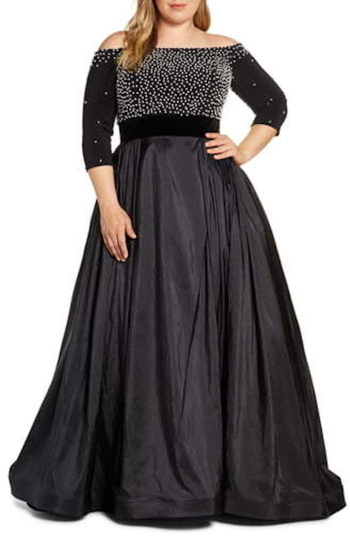 plus size mother of the bride dresses