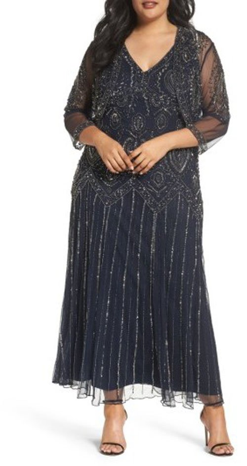 b2158dab92 25 Plus Size Mother of the Bride Dresses Your Mom Will Rock