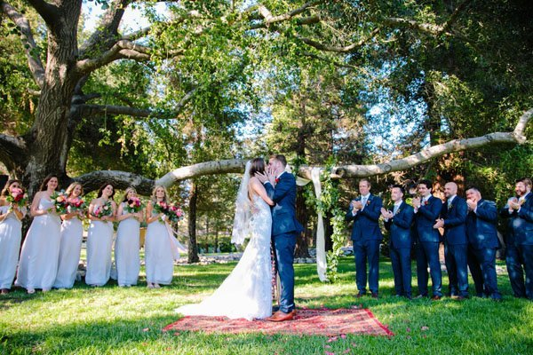 Real Weddings By Color: A Middle Ranch Wedding With Gorgeous Pops Of Color
