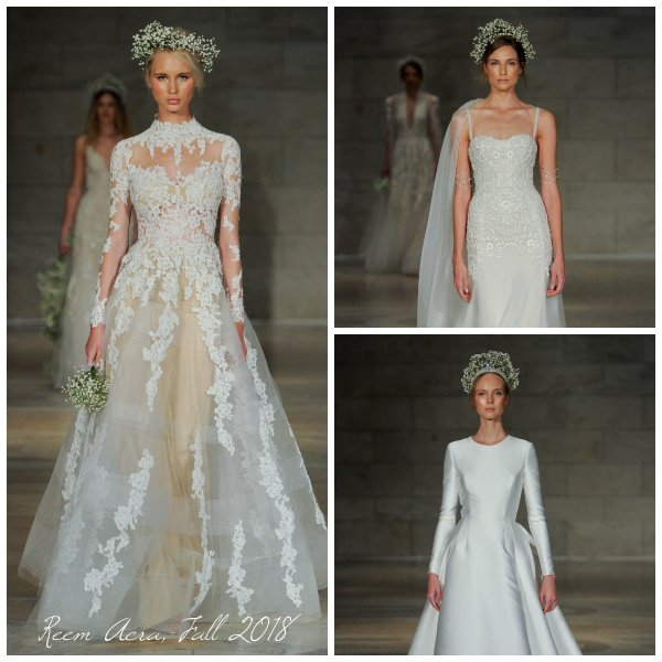 10 Perfect Wedding Arches For Every Theme And Style: First Look: Reem Acra Fall 2018 Wedding Dress Collection