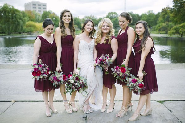 bridesmaid dresses for every body type