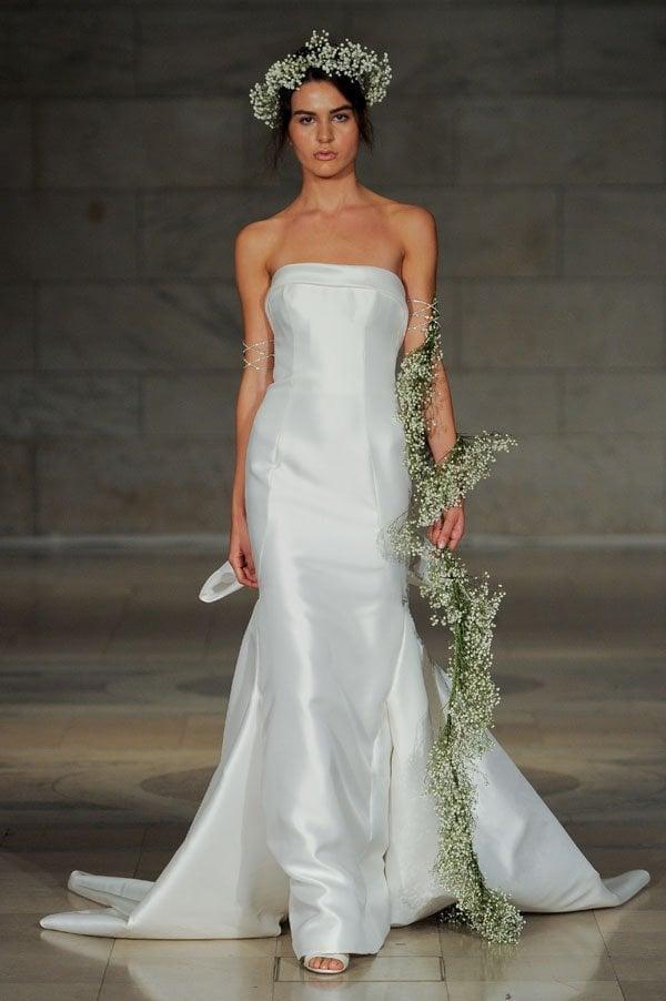 First Look  Reem Acra Fall 2018 Wedding Dress Collection a80fdebf6
