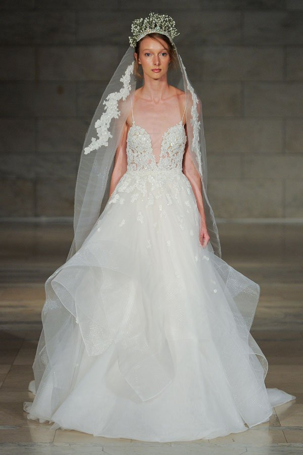 First Look Reem Acra Fall 2018 Wedding Dress Collection