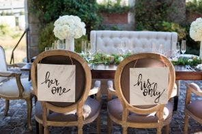 15 Wedding Signs That Your Guests Will Definitely Instagram