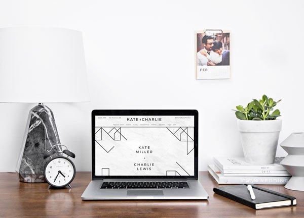 this tool makes it crazy easy to build your wedding website