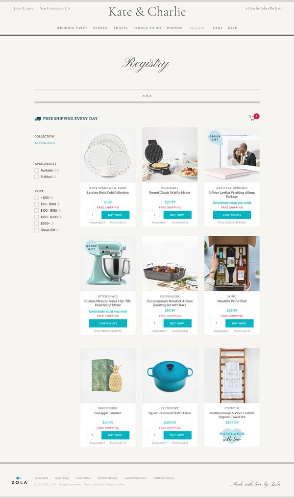 Wedding Registry Website.This Tool Makes It Crazy Easy To Build Your Wedding Website