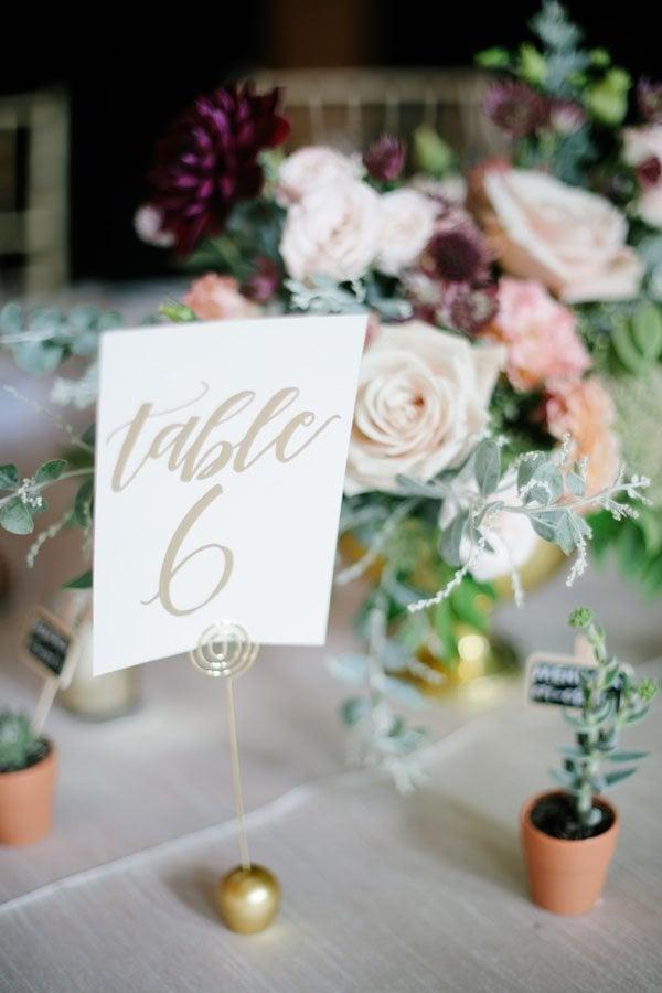 wedding reception style