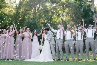 Our favorite real weddings a rustic chic wedding at oak canyon ranch junglespirit Gallery