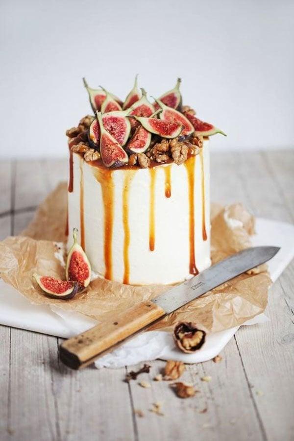 fig wedding cakes