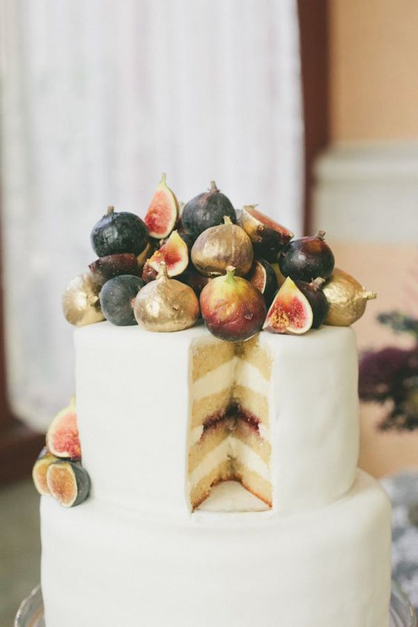 fig wedding cakes