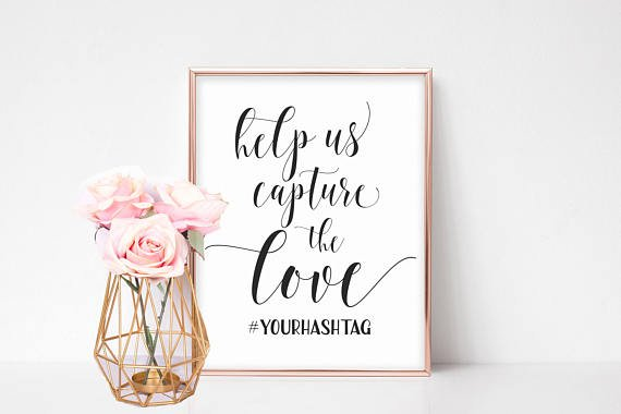 Get Help With Your Wedding Hashtag | Woman Getting Married