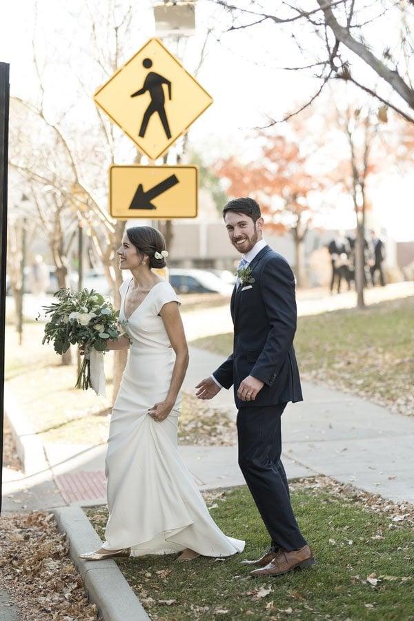 An Elegant and Rustic Salt Lake City Real Wedding