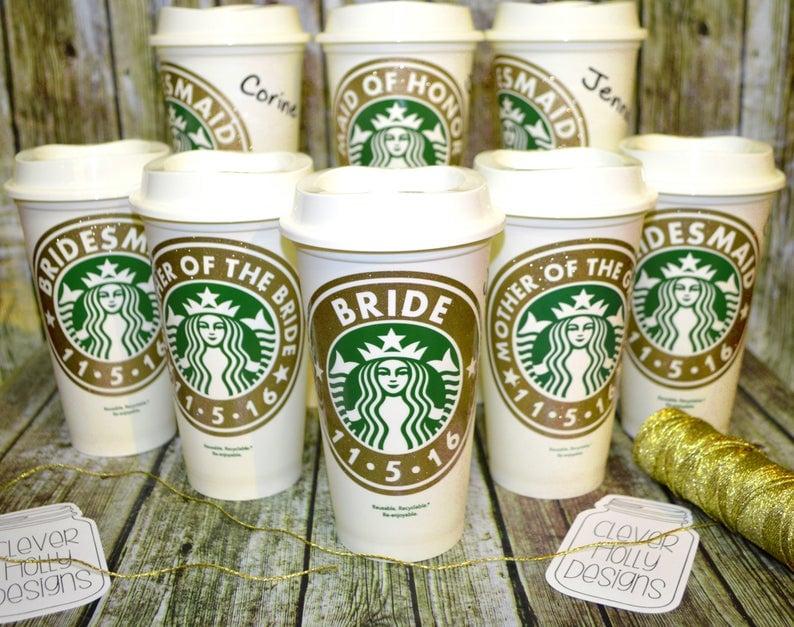 fun bridesmaid gifts mugs