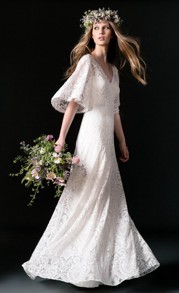 22 Jaw-Dropping Wedding Dresses for the Boho Bride