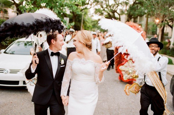 4bab4aa0609 SEE MORE  A Stunning New Orleans Courtyard Wedding at Il Mercato