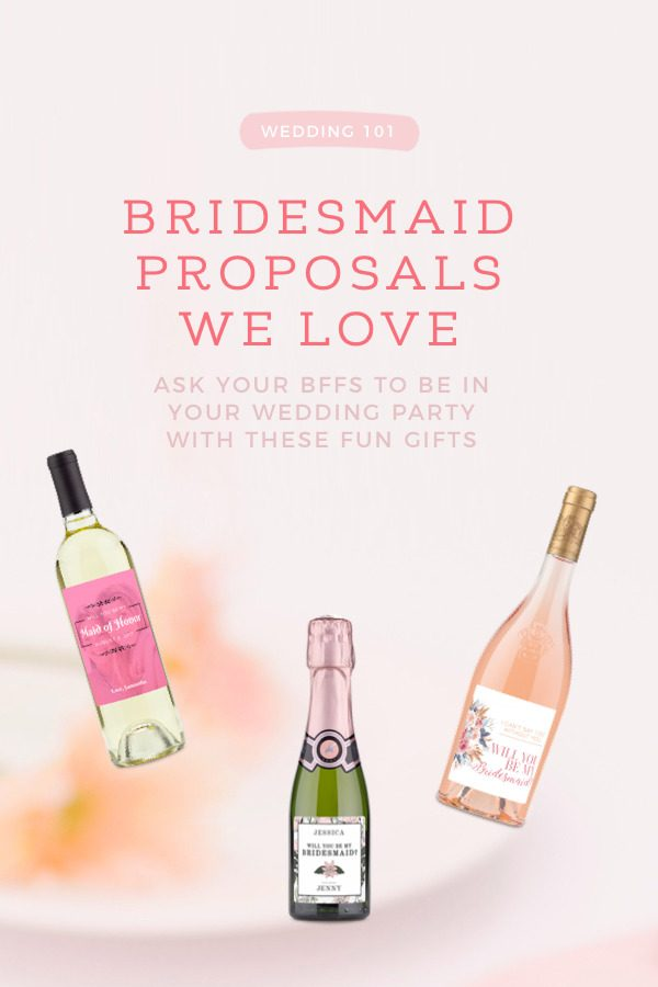 Looking for the perfect bridesmaid proposal? Your BFFs will love this!