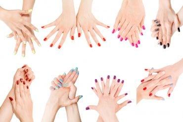 wedding nail polish