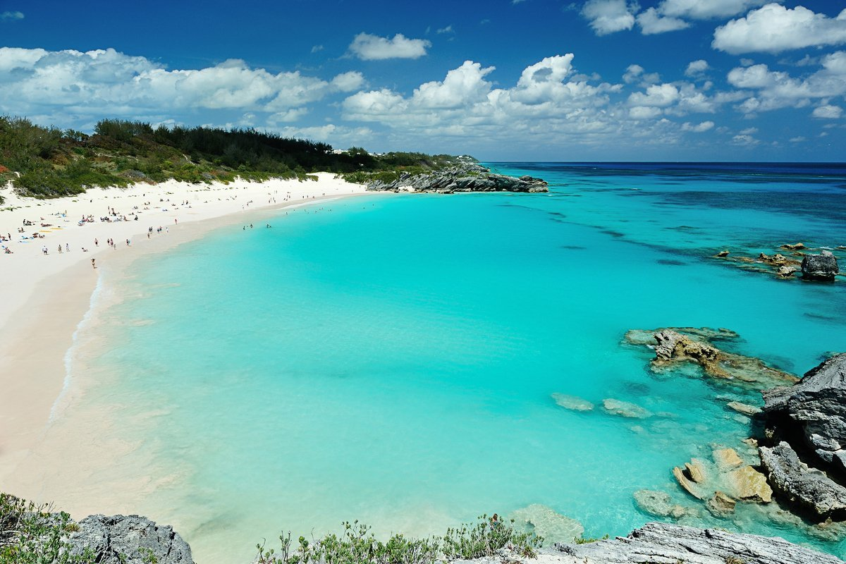 The best destination wedding locations by month woman getting married the best destination wedding locations by month bermuda wedding junglespirit Gallery