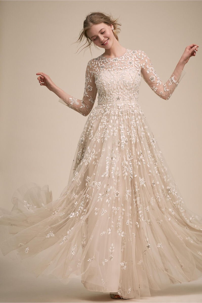 Bhldn S New Line Of Wedding Dresses Is Crazy Affordable